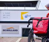 De Holland en fietstas
