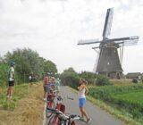 Pauze bij de Hoekermolen tussen Vreeland en Nigtevecht