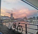 zonsondergang dek Sarah Wijk bij Duurstede