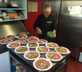 Chef in de keuken