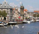 De Waag en Teylers museum in Haarlem