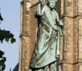 Laurens Janszoon Koster standbeeld in Haarlem