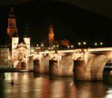 Heidelberg bij nacht