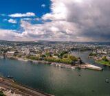 Koblenz_uitzicht vanaf fort Ehrenbreitstein