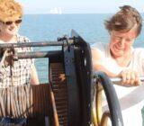 Mare fan Fryslân gasten aan boord