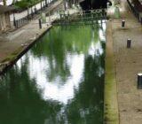 Kanaal in Parijs