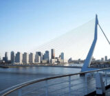 Erasmusbrug in Rotterdam