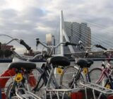 Rotterdam vanaf het schip