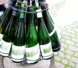 lege flessen wijn