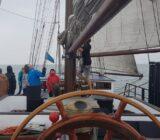 Op het schip