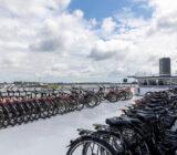 De Nassau fietsen op het dek
