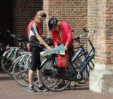 Routekaart bestuderen in Utrecht