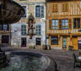 Auxerre centrum fontein