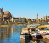 Auxerre bootjes in de haven
