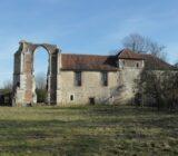 Ruine kerk Bourgondie
