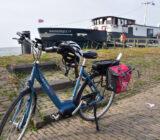 De fietsen staan klaar