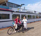 gasten bij schip Arnhem