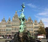 Standbeeld van Brabo in Antwerpen