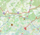 wielrenroute Wageningen - Arnhem