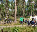 fietsen door de Veluwe
