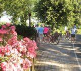 Rivierenland fietsers pauze