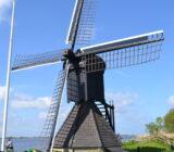 Windmolen bij de Friese meren