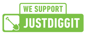 We support Justdiggit